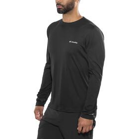 Columbia Zero Rules - Camiseta de manga larga Hombre - negro